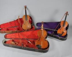 Antiquaire - Dijon - Franck Neuville - violon